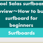 Noel Salas surfboard review‐How to buy surfboard for beginners