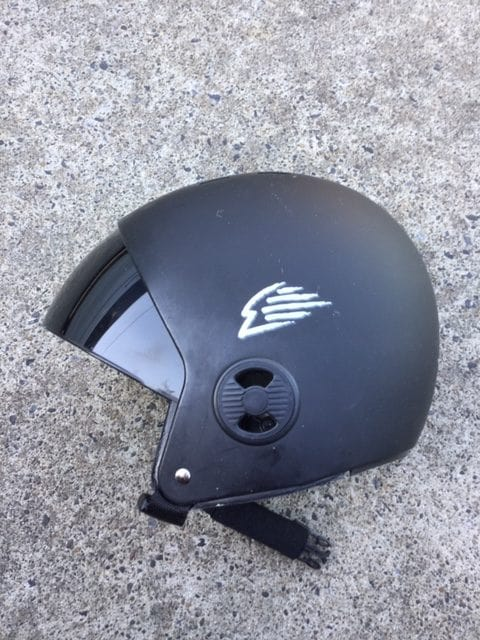 GATH-RV-Retractable-Visor-Surf-Hat-helmet-surfing-review-black