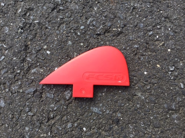 surfing-fin-review-fcs-nubster-Comparison-of-shape-and-material-and-weight